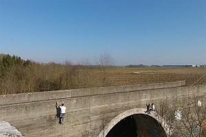 Klettern am Viadukt Laupheim