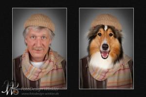 Hund als Mensch