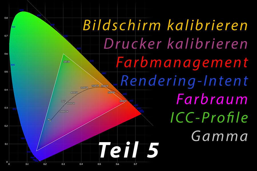 Farbmanagement 05 – Farbräume transformieren