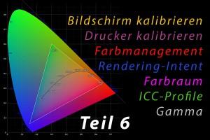 Farbmanagement 06 – Wie funktionieren Profile