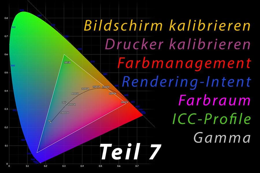 Farbmanagement 07 – Profile für Ein- und Ausgabegeräte