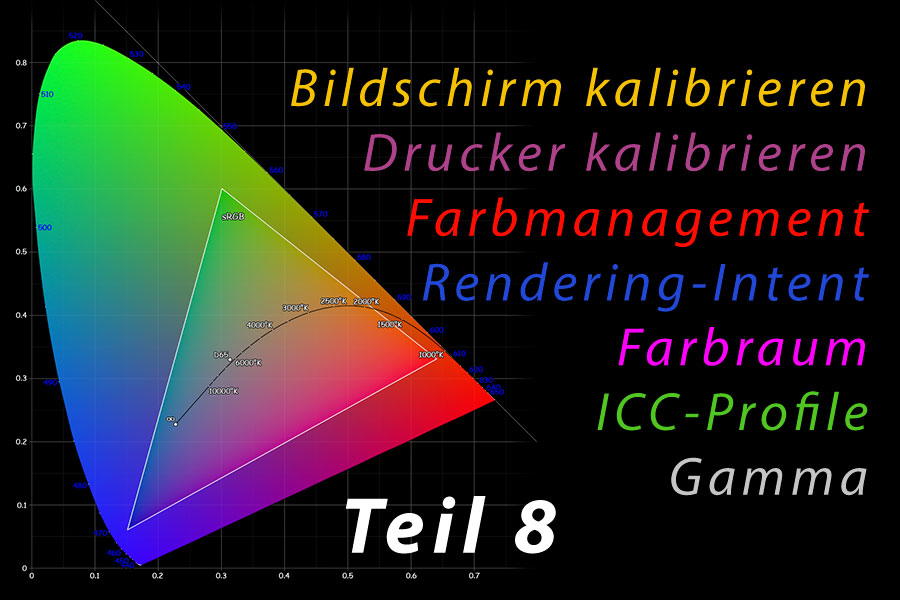 Farbmanagement 08 – Monitor kalibrieren