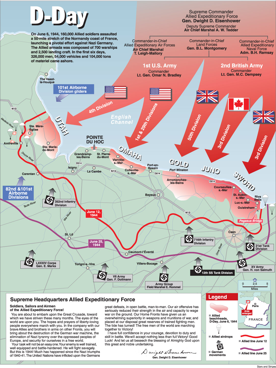 D-Day map Latest version - FotoDesign Winkler on