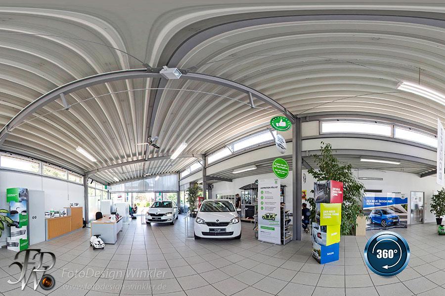 Virtueller Rundgang vom AutoCenter Benz