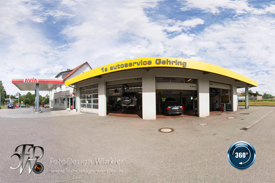 Virtueller Rundgang vom 1a autoservice Gehring