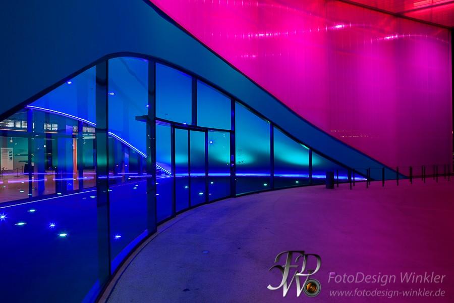 Dornier Museum bei Nacht
