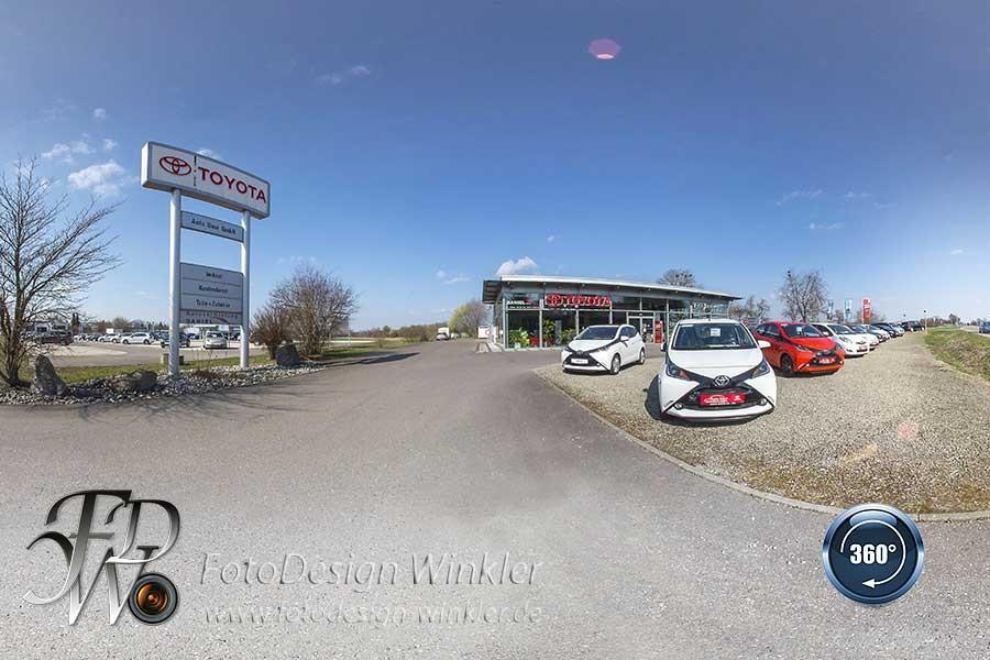 Virtueller Rundgang von Autohaus Baur Laupheim