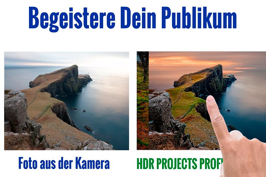 Erklärvideo für Franzis HDR Project Pro – HDR Software vom Feinsten – Diese Bildbearbeitung muss man haben.
