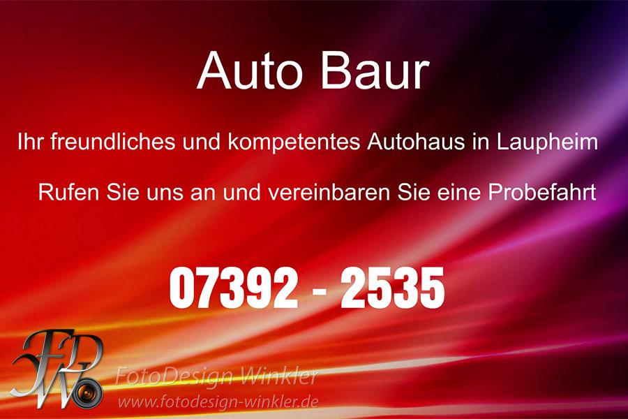 Sketchvideo Auto Baur Laupheim