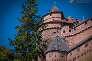Hoh Königsbourg im Elsass