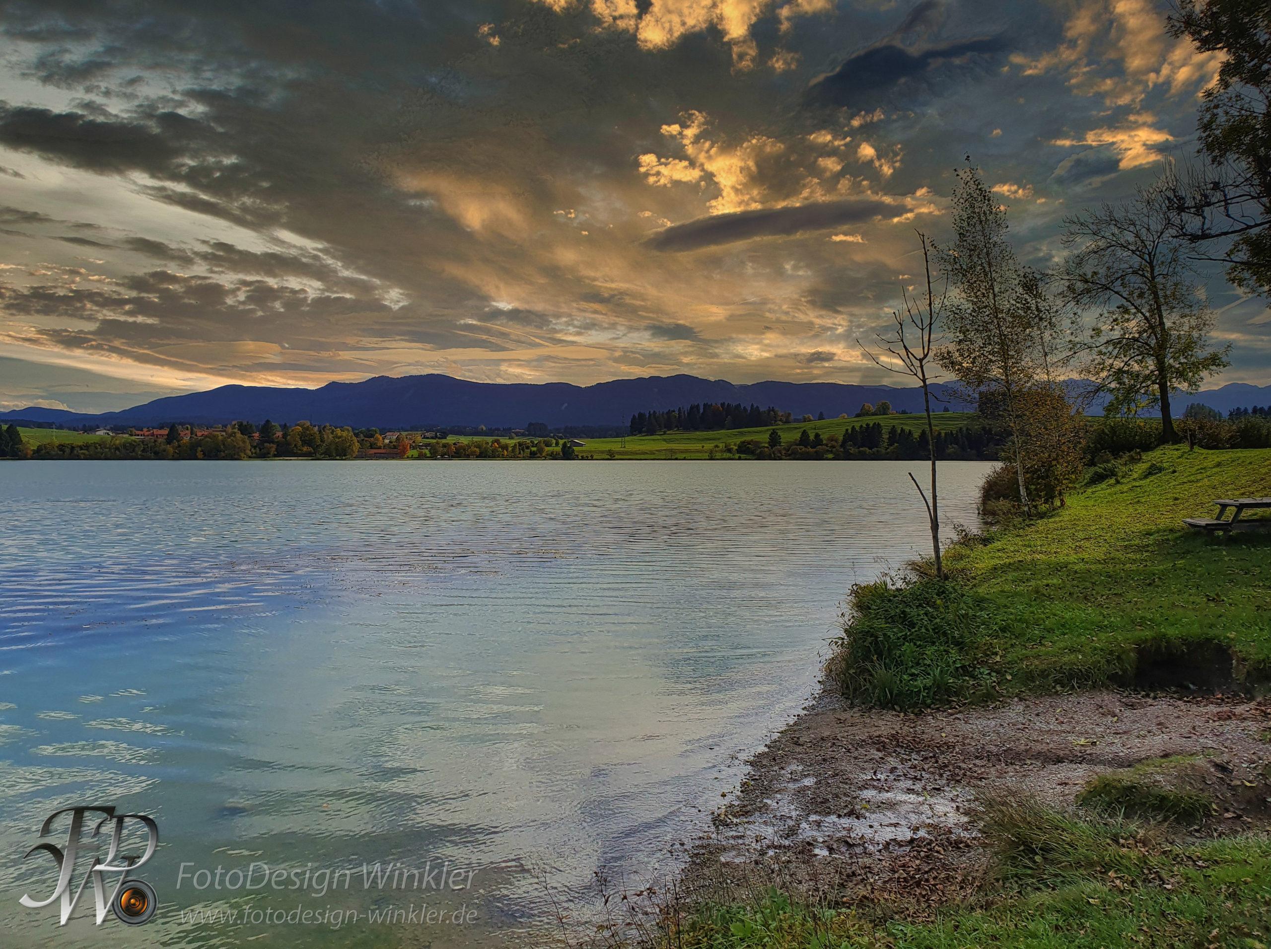 Lechsee im Allgäu